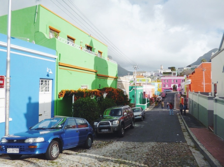 The colourful streets of Bo'Kaap, as featured in Lonely Planet.