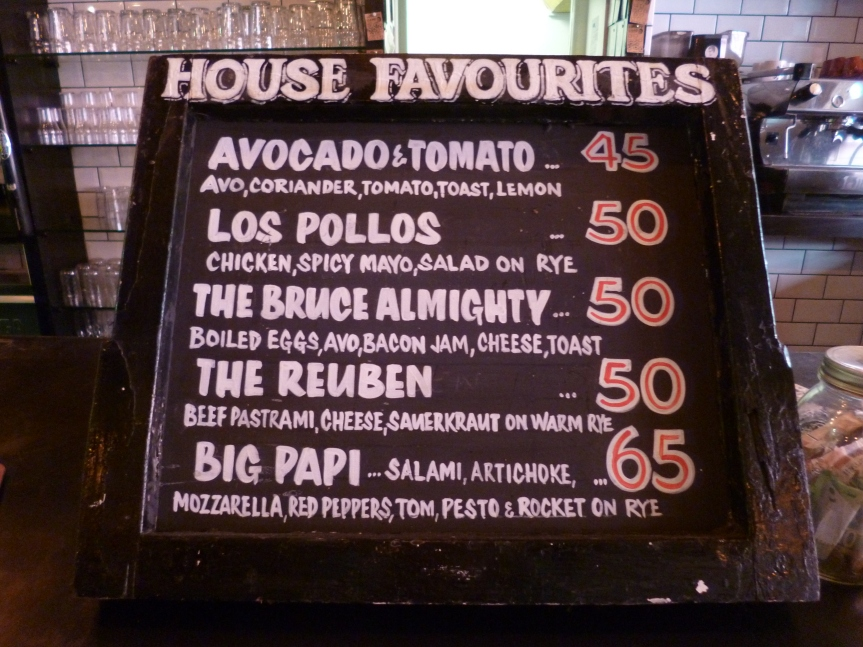 The House of Machines, just off Greenmarket Square.